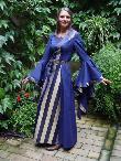 Mittelalterkleider Mittelaltergewand Magdalena blau