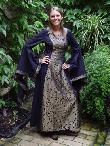 Mittelalterkleider Susanne schwarz, Mittelaltergewand