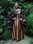Mittelalterkleider Magdalena braun, Mittelaltergewand
