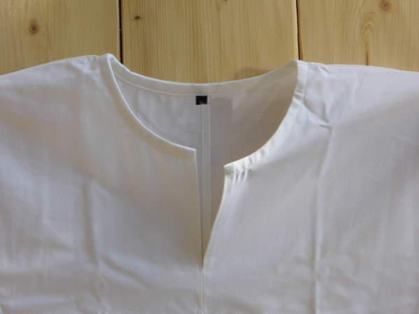 Bild Nr. 2 Mittelalterhemd einfach weiss