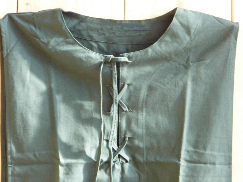 Bild Nr. 2 Mittelalterkleid Überkleid grün