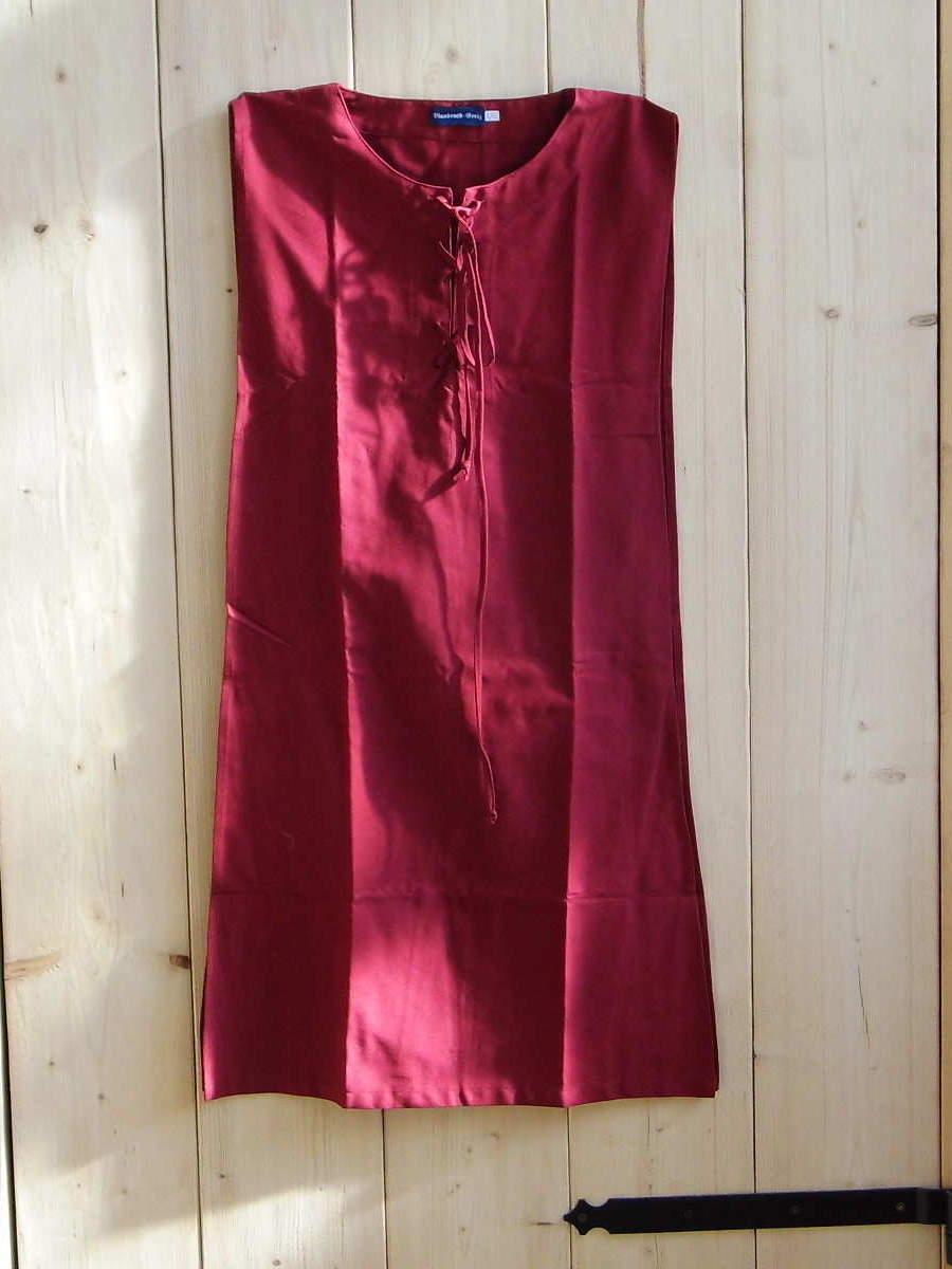 Mittelalterkleid Überkleid rot