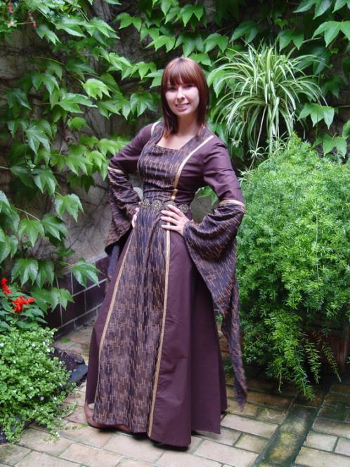 Mittelaltergewand Brunhilde