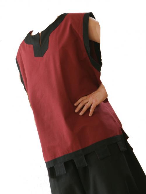 Tunika rot schwarz