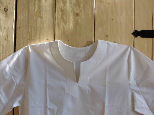 Bild Nr. 2 Römische Tunika weiß