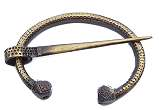 Wikinger Bronze-Polyeder-Fibel