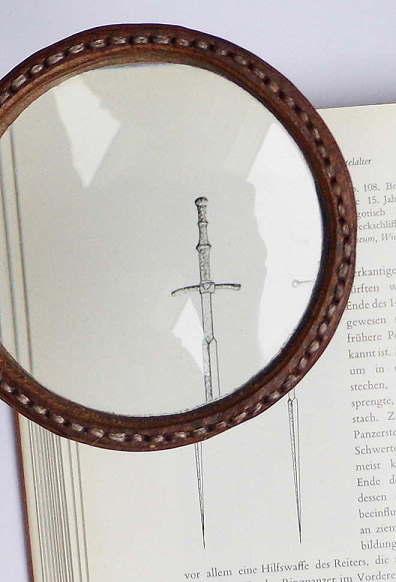 Bild Nr. 2 Sehstein Lupe