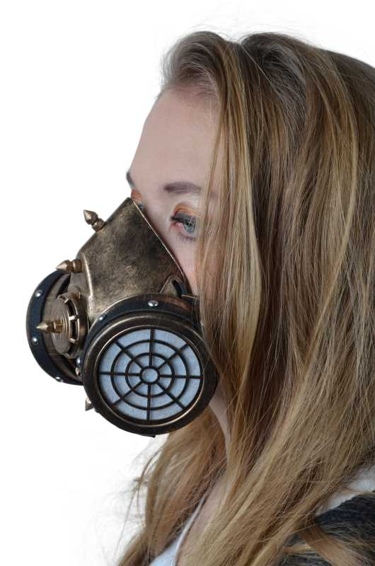 Steampank Maske