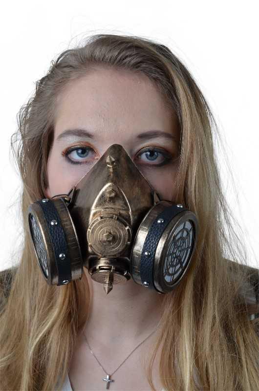 Bild Nr. 2 Steampank Maske