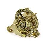 Steampunk Sonnenuhr Magus mit Kompass