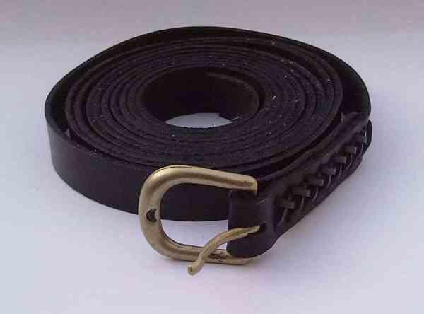 Mittelaltergürtel schwarz extra lang