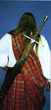 Schwertgehaenge Rückentragescheide für Langschwerter