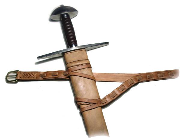 Schwertscheide mit Gürtel