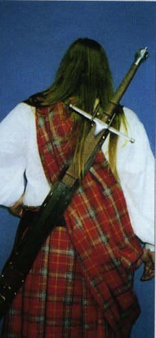 Rückentragescheide für Langschwerter
