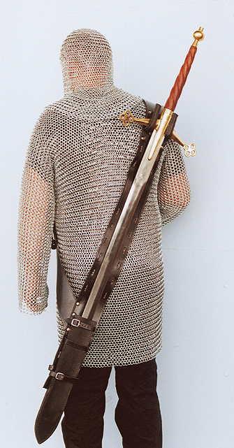 Bild Nr. 2 Rückentragescheide für Langschwerter