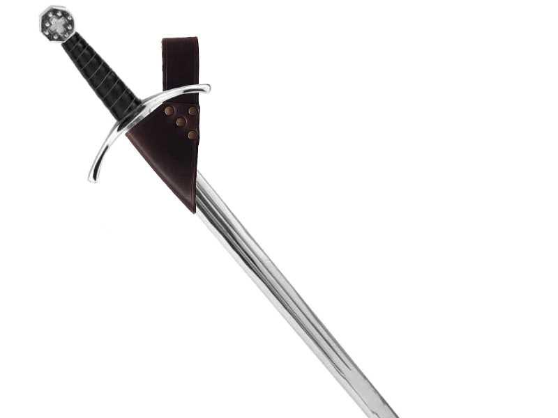 Bild Nr. 2 Schwerthalter braun