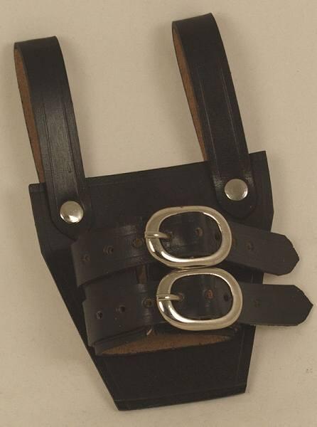Schwerthalter Waffenahlter aus Leder Abb. Nr. 1