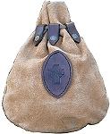 Taschen Mittelalterlicher Lederbeutel mit keltischem Kreuz
