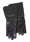 Handschuhe Stulpenhandschuhe, schwarz