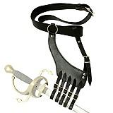 Gürtel mit Schwertgehänge Rapier Degen Korbschwerter