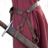 Schwertgehaenge Schwertgurt mit Schwerthalter