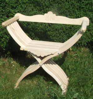 Bild Nr. 2 Scherenstuhl mit modernisierter Rückenlehne