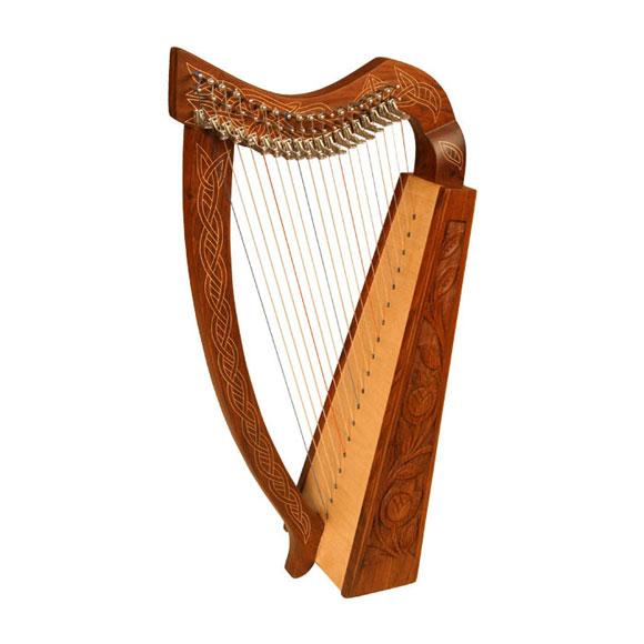 Bild Nr. 2 keltische Harfe Argyll 19 Saiten