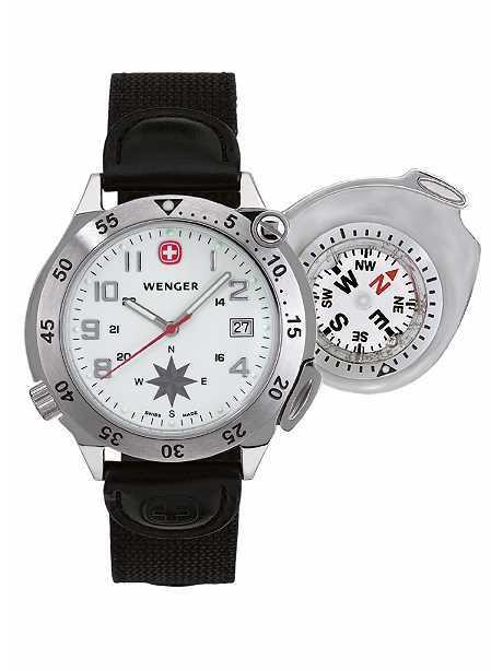 Bild Nr. 2 Kompass-Uhr Wenger COMPASS NAVIGATOR