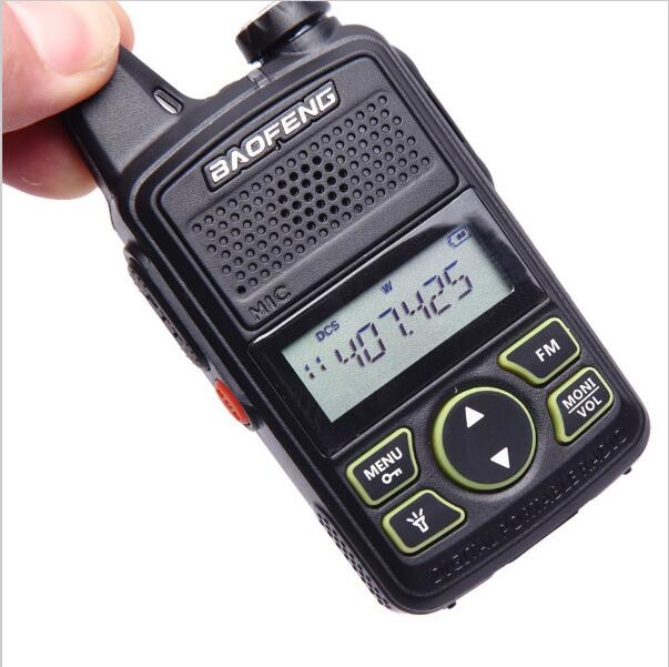 Bild Nr. 4 Baofeng BF-T1 Mini Walkie Talkie