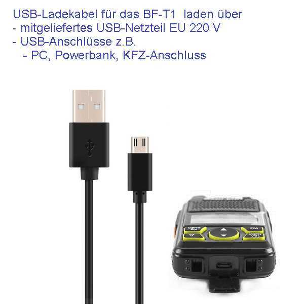 Bild Nr. 7 Baofeng BF-T1 Mini Walkie Talkie