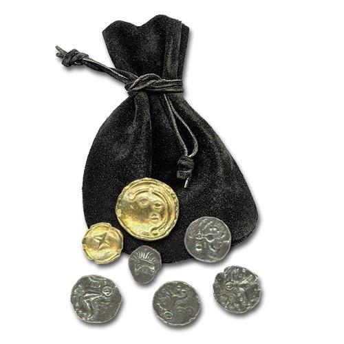 Keltischer Münzbeutel