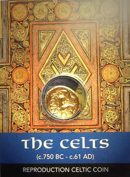 Bild Nr. 2 Keltische Gold-Münze Cunobelin Stater