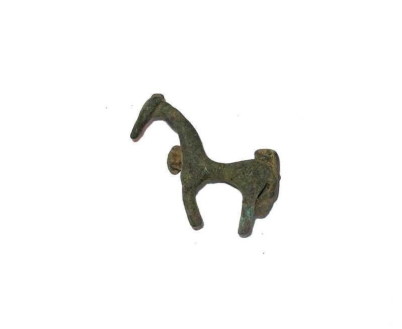 Bild Nr. 2 Römische Pferdefibel Replik