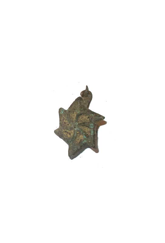 Bild Nr. 2 Sonnenradfibel Römische Replik