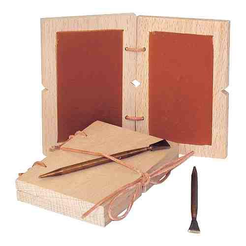 Schreibtafel Wachstafel