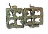 Roemische-Fibeln Römische Kreuzfibel-Replik