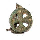 Roemische-Fibeln Replik runde Kreuzfibel Römisch