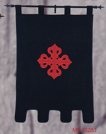 Banner des Ritterordens von Calatrava