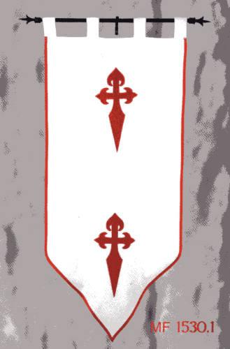 Banner St. James Orden von Santiago