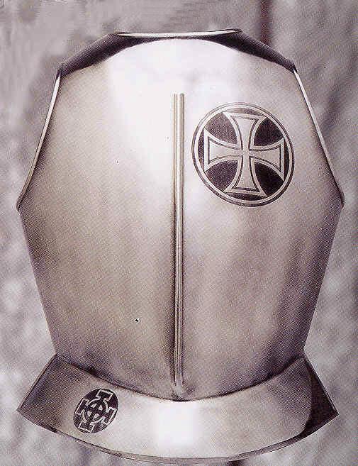 Templer Brustpanzer Kreuz