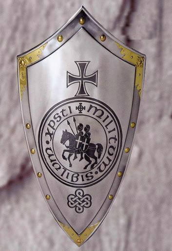 Bild Nr. 2 Templerschild mit Templer-Siegel