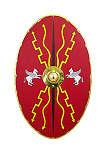 Roemische-Schilde Zenturionenschild