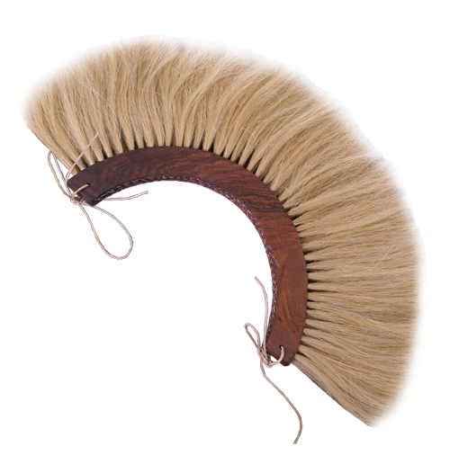 Römischer Helmbusch Crista blond