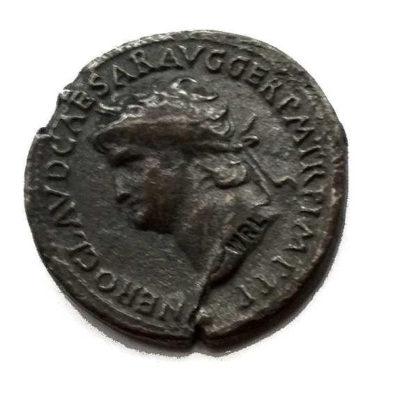 Bild Nr. 3 Münzbeutel Nero Römische Münzen