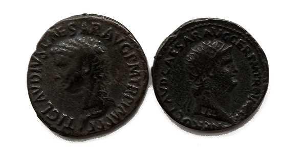 Bild Nr. 4 Münzbeutel Nero Römische Münzen