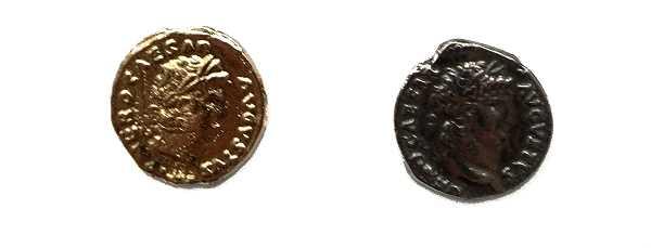Bild Nr. 5 Münzbeutel Nero Römische Münzen