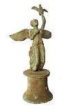 Roemische-Repliken Römische Bronze-Statue 16cm