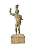 Mittelalter Römer Shop Römische Bronze-Statue Mars 18cm