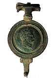 Römische Fibel Nero Fundreplik