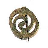 Roemer Roemische-Repliken-Shop Sonnenradfibel Römisch Replik
